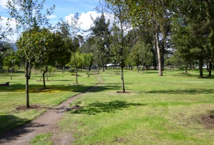 Parque El Ejido in Quito, Ecuador