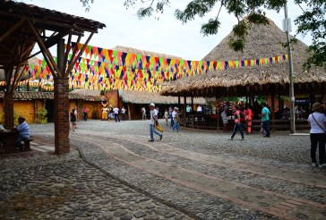 Estación Equina at Panaca in Colombia