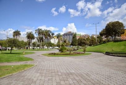 Parque del Arbolito in Quito, Ecuador