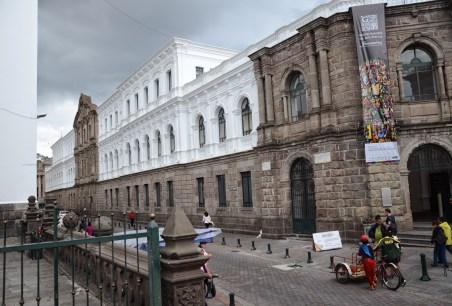 Centro Cultural Metropolitano in Quito, Ecuador