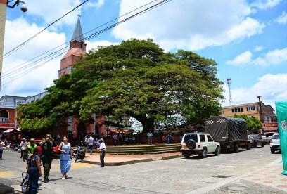 Plaza in Alcalá, Valle del Cauca, Colombia