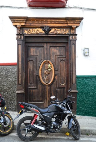 A door in Salamina, Caldas, Colombia