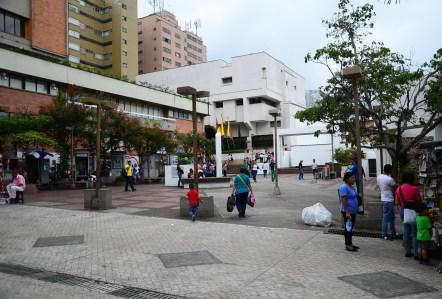 Plazoleta Dario Echandía in Ibagué, Tolima, Colombia