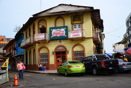 Café Coca-Cola in Casco Viejo, Panama City