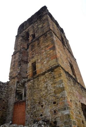 Bell Tower of the Catedral de Nuestra Señora de la Asunción at Panama Viejo