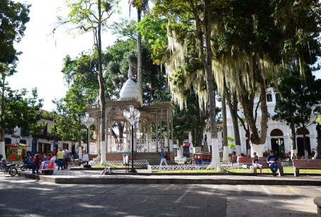 Plaza in Salamina, Caldas, Colombia