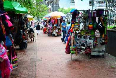 Souvenir Stands in Manizales, Caldas, Colombia