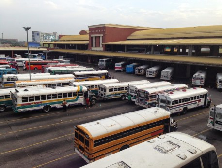 Albrook Bus Terminal in Panama City
