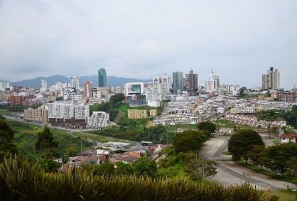 View of Manizales from Los Yarumos