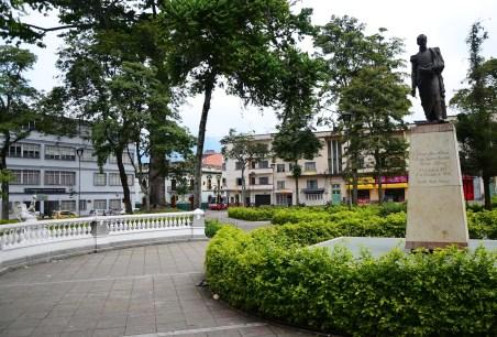 Plaza de Bolívar in Ibagué, Tolima, Colombia