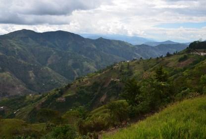 View from La Choza in Salamina, Caldas, Colombia