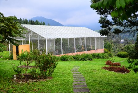 Mariposario at Recinto del Pensamiento in Manizales, Caldas, Colombia