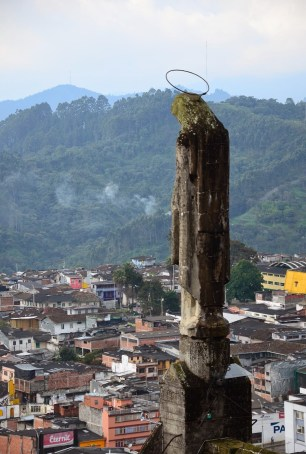 View from the Catedral de Manizales in Colombia