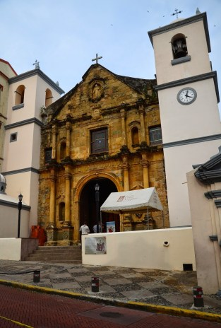 Iglesia de La Merced in Casco Viejo, Panama City