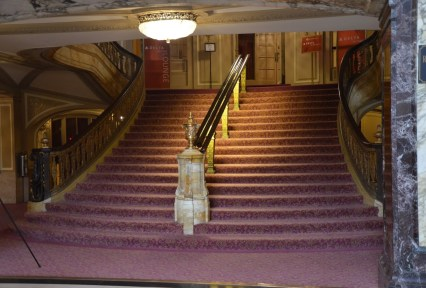 Staircase of the Chicago Theatre on State Street