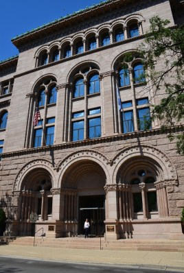 Newberry Library in Chicago, Illinois