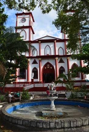 Nuestra Señora del Carmen church in Honda, Tolima, Colombia