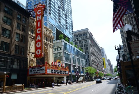 Chicago Theatre on State Street