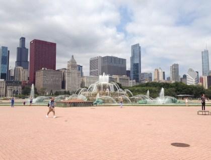 Buckingham Fountain in Grant Park Chicago