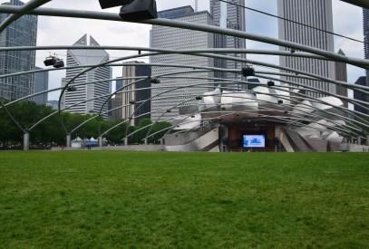Pritzker Pavilion at Millennium Park in Chicago