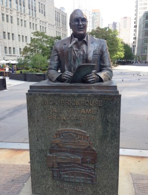 Jack Brickhouse Monument in Chicago