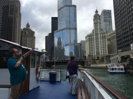 Wendella boat tour in Chicago, Illinois
