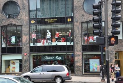 Blackhawks Store in Chicago