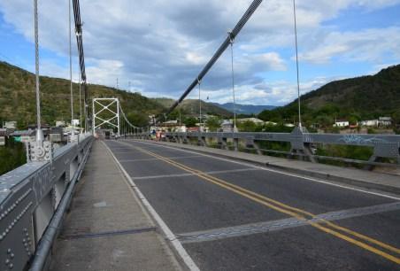 Bridge to Puerto Bogotá in Honda, Tolima, Colombia
