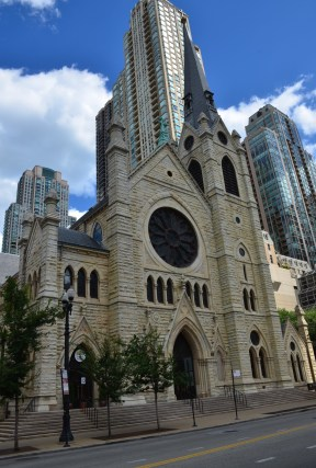 Holy Name Cathedral in Chicago, Illinois