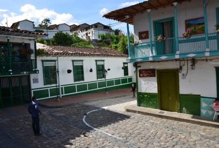 A street in Concepción, Antioquia, Colombia