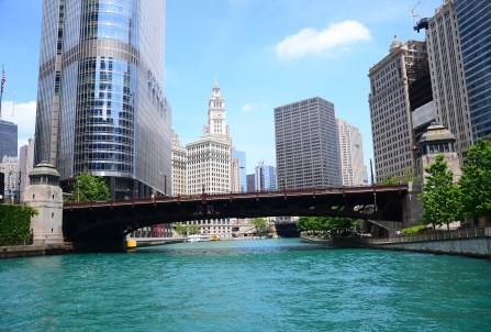 Wabash Avenue Bridge over the Chicago River