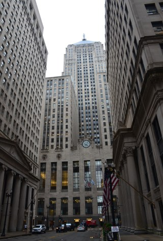 Chicago Board of Trade in Chicago, Illinois