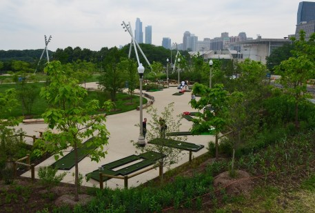 Maggie Daley Park at Grant Park in Chicago