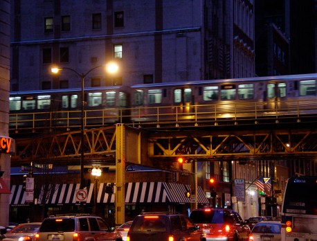 "CTA ""L"" Tracks in Chicago"