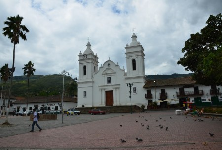 Church in Guaduas, Cundinamarca, Colombia