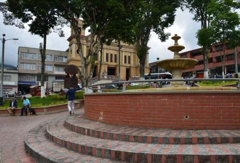Pácora Main Plaza Caldas Colombia