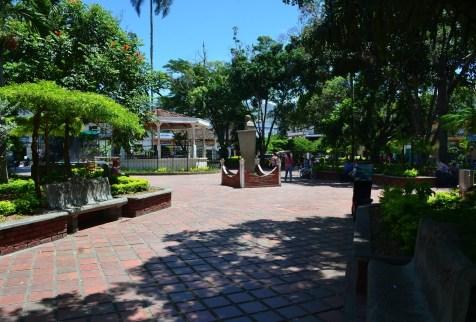 La Unión main plaza Valle del Cauca Colombia