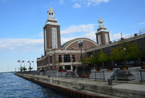 Grand Ballroom at Navy Pier Chicago Illinois