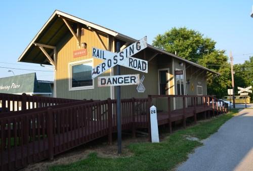 Panhandle Depot in Hebron, Indiana
