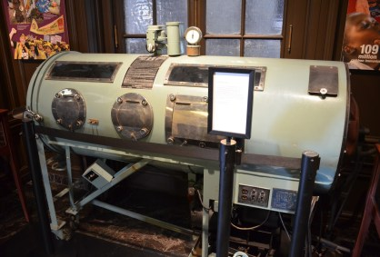 Iron Lung at International Museum of Surgical Science Gold Coast Chicago