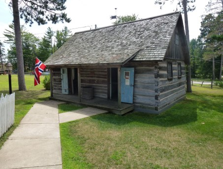 Norwegian House at Pioneer Village in Nisswa, Minnesota