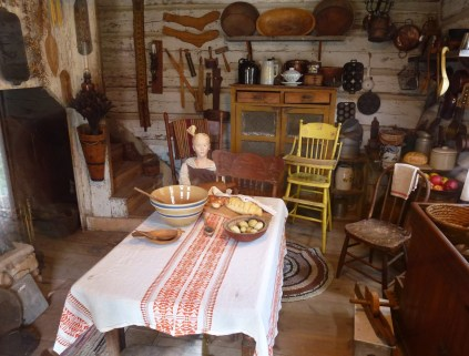 Pillager Homestead at Pioneer Village in Nisswa, Minnesota