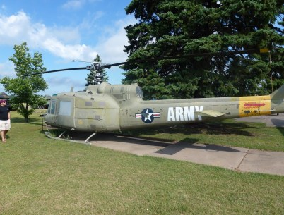 Helicopter at Minnesota Military Museum at Camp Ripley