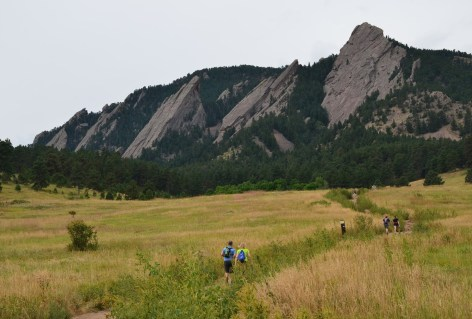 Chautauqua Park in Boulder Colorado