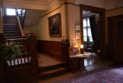 Foyer in the Wyoming Governor's Mansion in Cheyenne