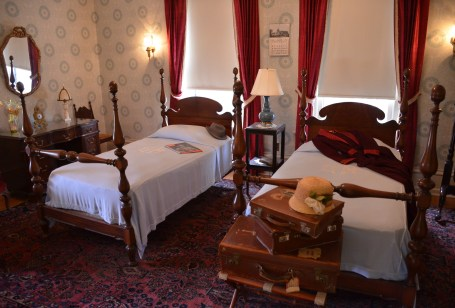 Bedroom in the Wyoming Governor's Mansion in Cheyenne