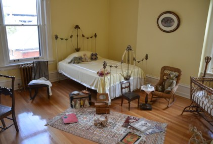 Children's room in the Wyoming Governor's Mansion in Cheyenne