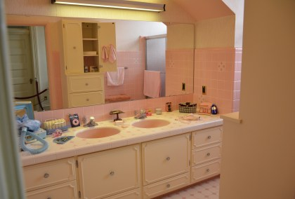 Bathroom in the Wyoming Governor's Mansion in Cheyenne