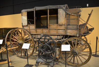 Overland carriage at the Cheyenne Frontier Days Old West Museum in Wyoming