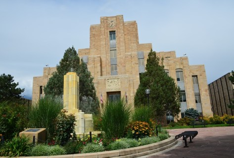 Boulder County Courthouse in Boulder Colorado